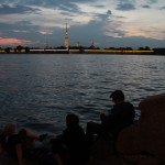 Morgens halb zwei in Petersburg