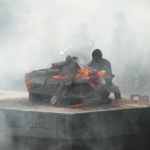 Verbrennungszeremonie in Paschupati