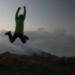 Ueber den Wolken - hoeher als Mt. Dhaulagiri