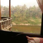 Blick aus unserem Fenster in Muang Khua