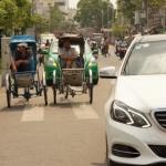 Wir fahrn Daimler, nicht Rikscha