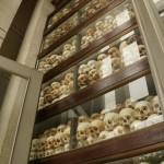 In der Gedenkstupa sind die Schädel von knapp 10000 Menschen aufgebart