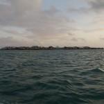Bajo-Dorf im Meer
